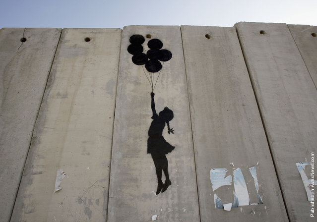 Image result for banksy israeli wall